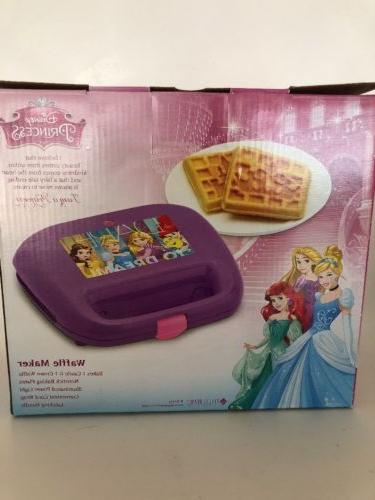 Disney DP-2 Waffle Maker, Purple