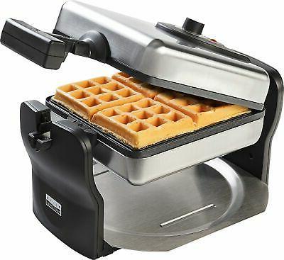 Bella 4-Slice Rotating Waffle Maker -