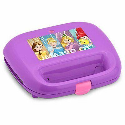 Disney Purple Princess Waffle Maker, New