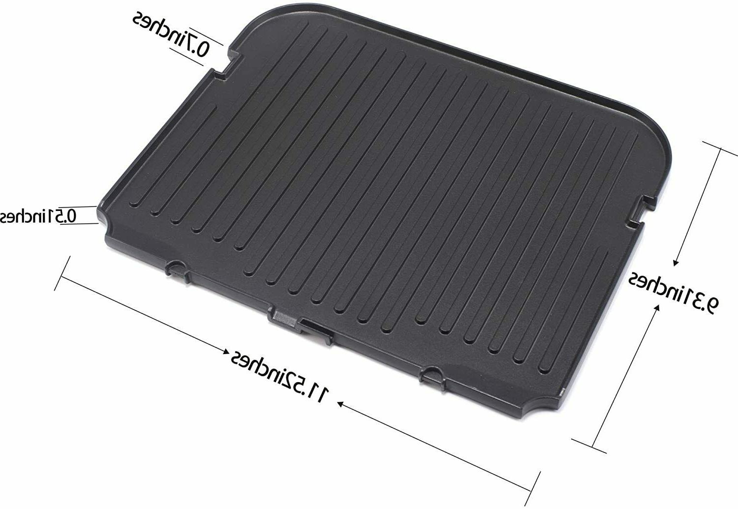 Reversible Grill/Griddle Cuisinart Waffle Plates GR-4N 5