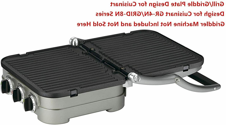 Reversible Cuisinart Griddler Waffle Plates GR-4N in
