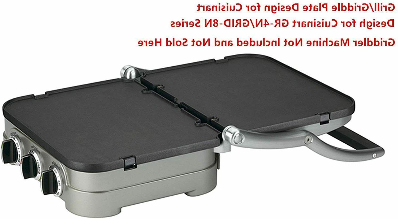 Reversible Plate for Cuisinart Waffle GR-4N 5