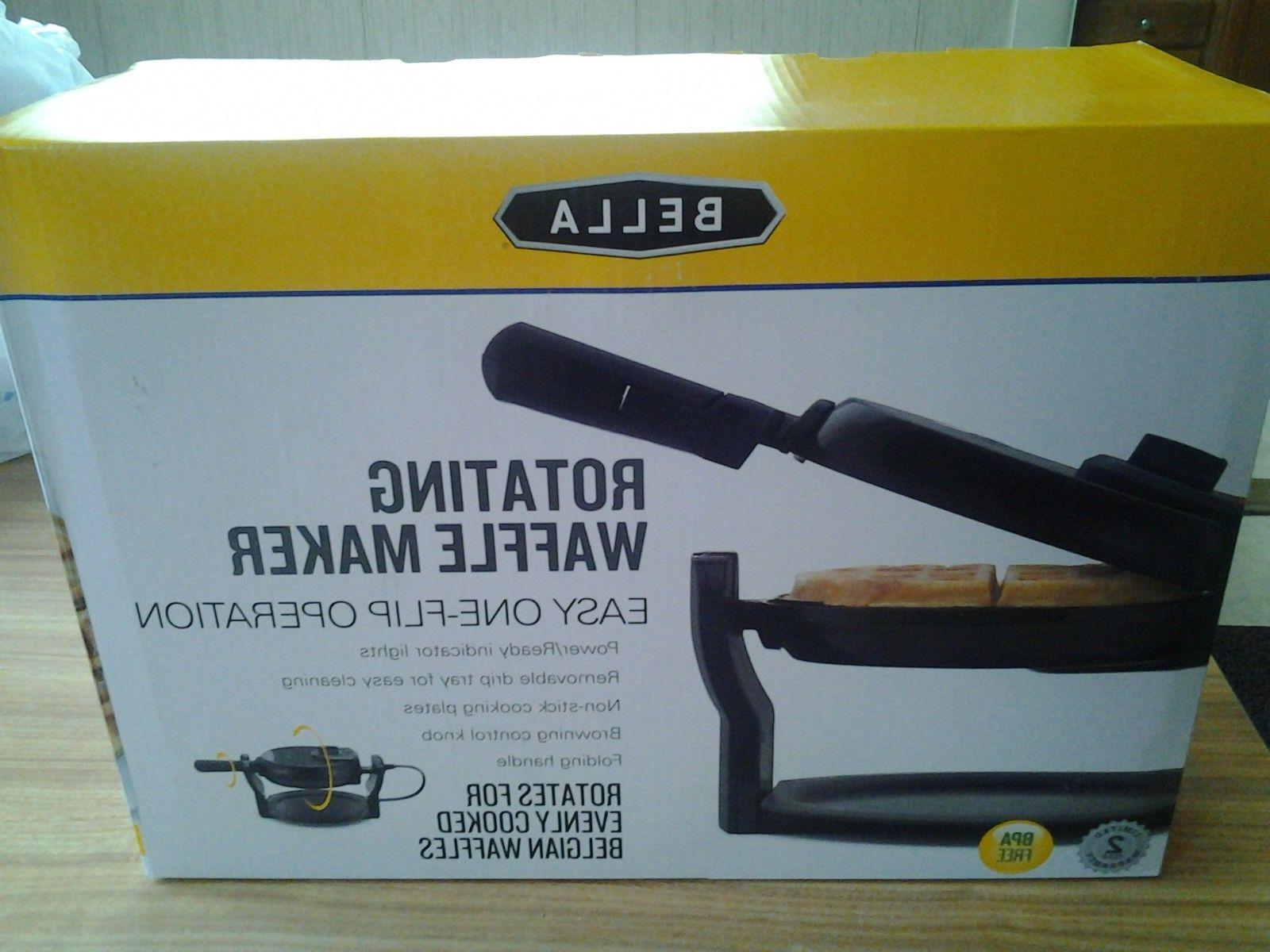 rotating belgian waffle maker 13591 new in