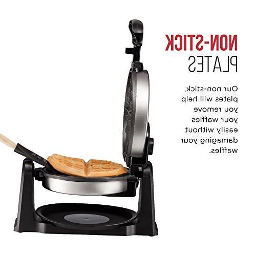 Chefman Maker 180° Single Creates Restaurant Style Adjustable & Lid Drip Steel
