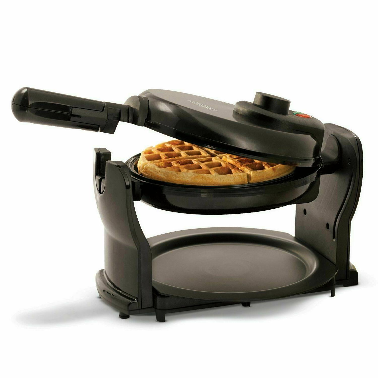 Rotating Non-Stick Waffles Breakfast Folding