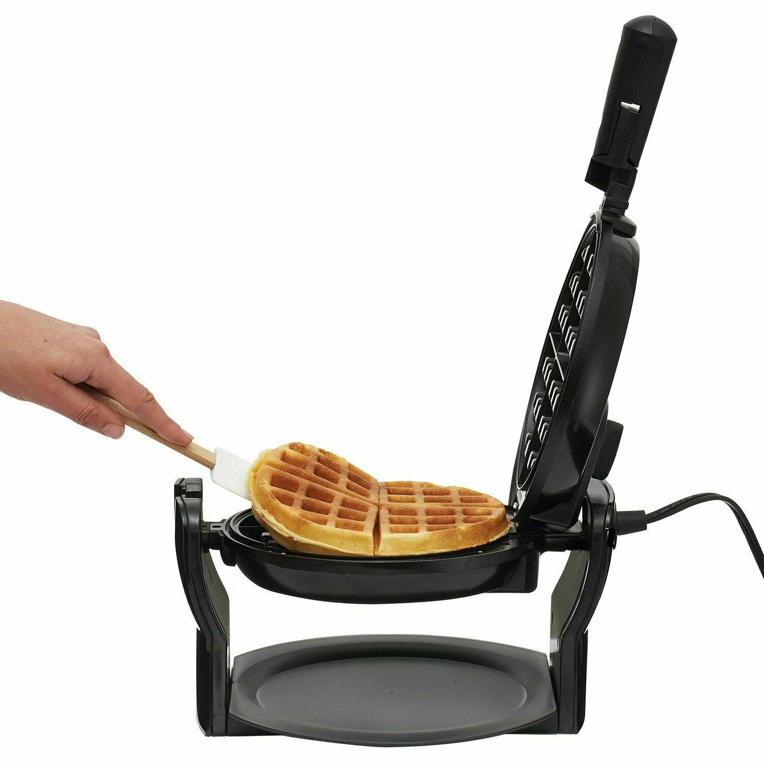 Rotating Non-Stick Waffles Folding