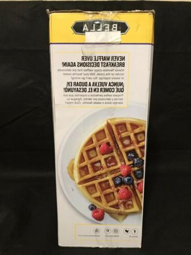 BELLA Waffle Maker Non-Stick New Unopened.