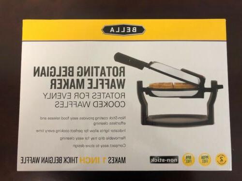 rotating non stick belgian waffle maker new