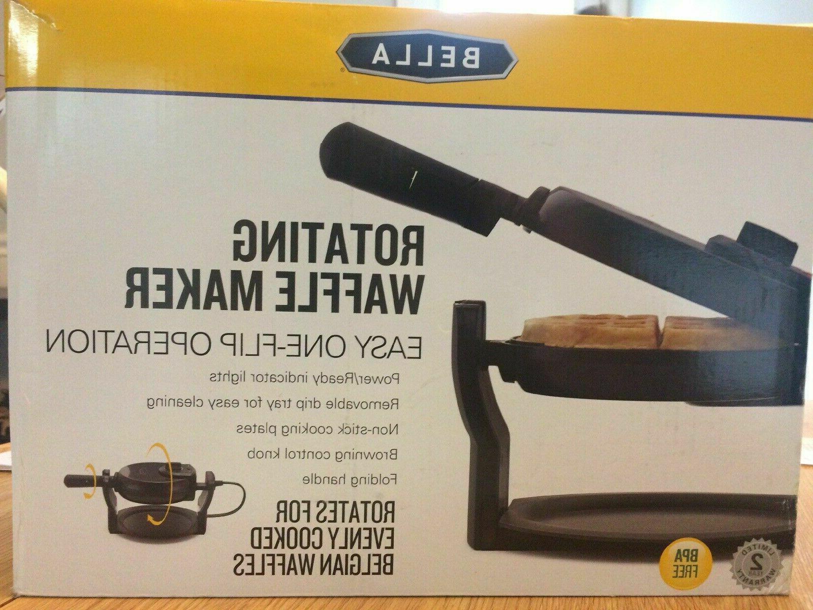 rotating waffle maker 13991 new box free