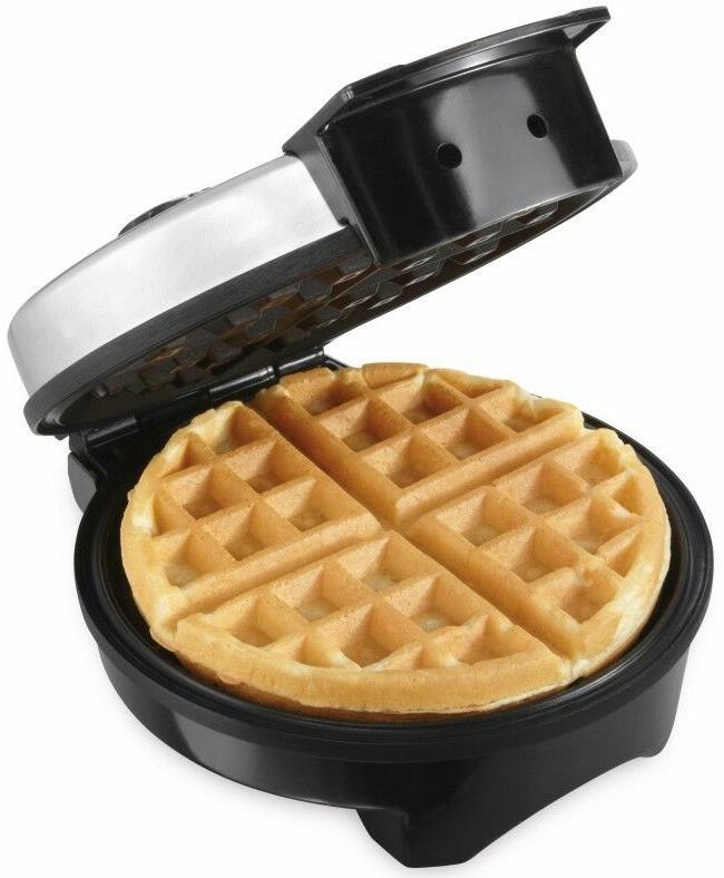 Round Waffle Iron Non Baking Pan Electric