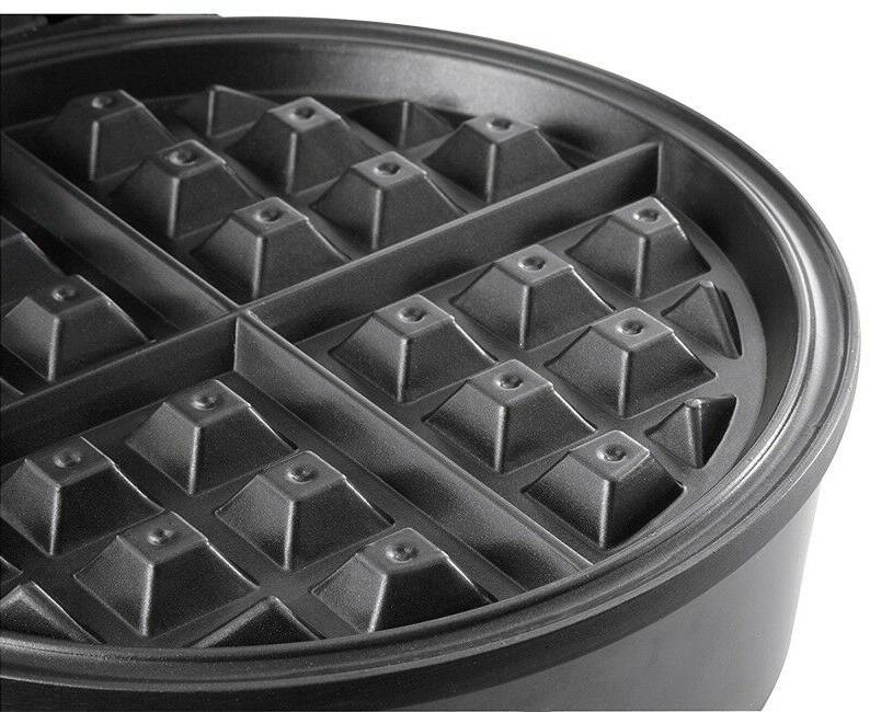 Round Waffle Iron Pan Electric Breakfast