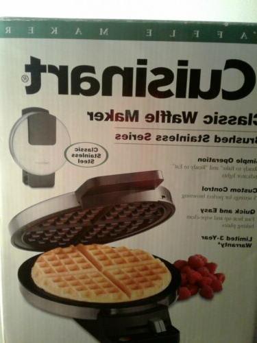 Cuisinart Round Maker Machine Iron Breakfast Home