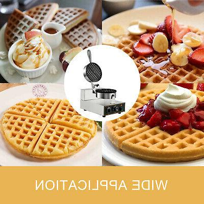 Round Waffle Maker Machine Muffin maker Nonstick Electric