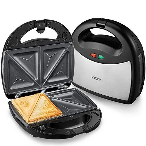 Aicok Sandwich maker, 3-in-1 Detachable LED
