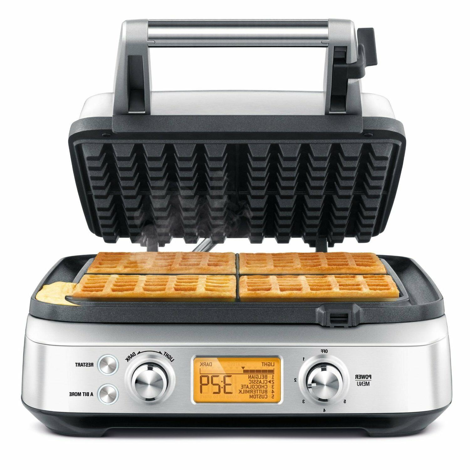 Breville the Waffle Pro Belgian - 4 x