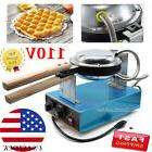 Stainless Steel Electric Egg Cake Oven QQ Egg Waffle Maker E
