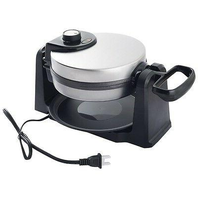 stainless steel home kitchen belgian waffle maker