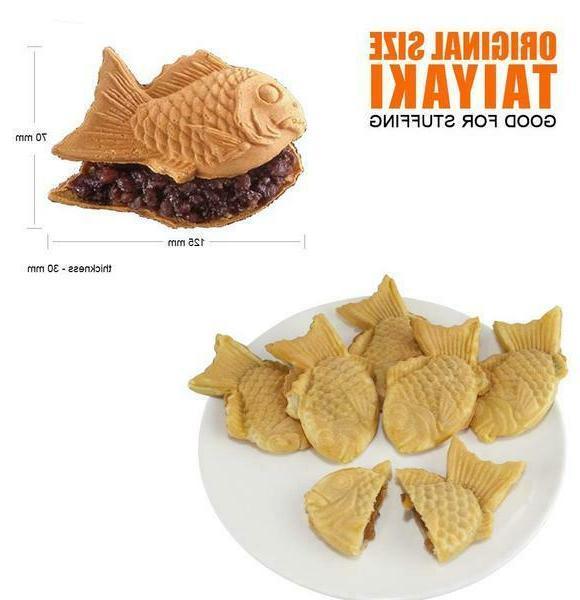 ALDKitchen Fish Cake Waffle Jam or Cream | 6 Waffles