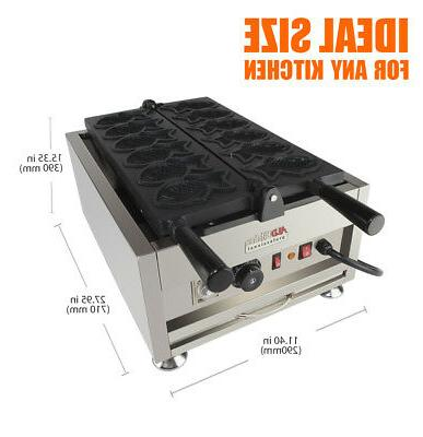 Taiyaki 110V   ALDKitchen pcs Commercial Use or IceCream