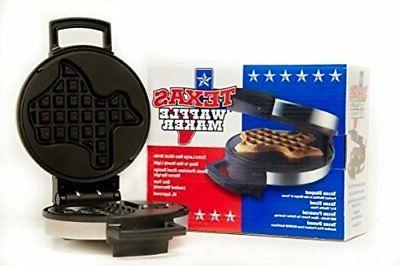Texas Waffle Maker Makers Small Kitchen Appliances Dining Ba