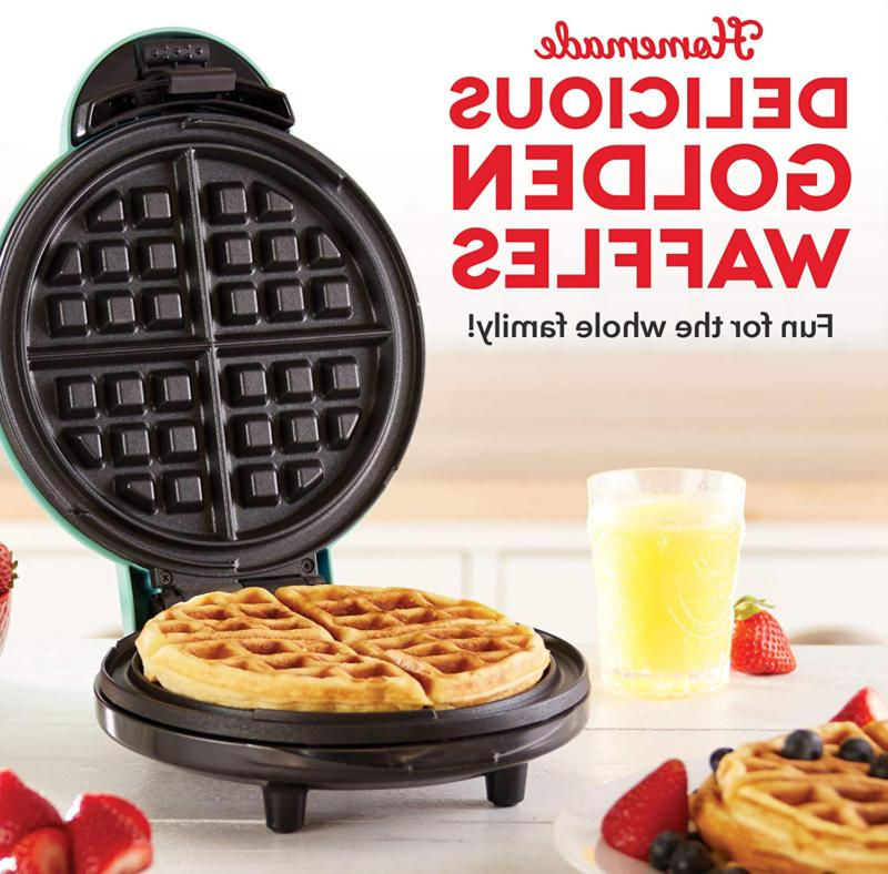 The Mini Waffle Machine Individual Paninis, browns