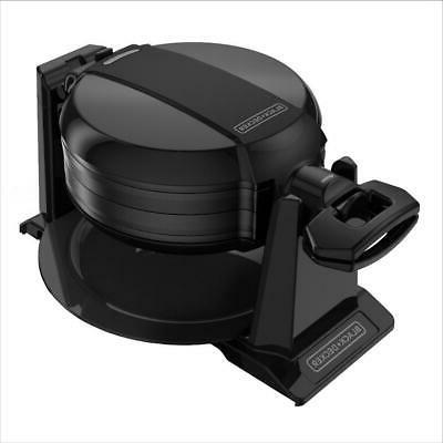 Traditional Waffle Rotating Nonstick Dual Plate Drip