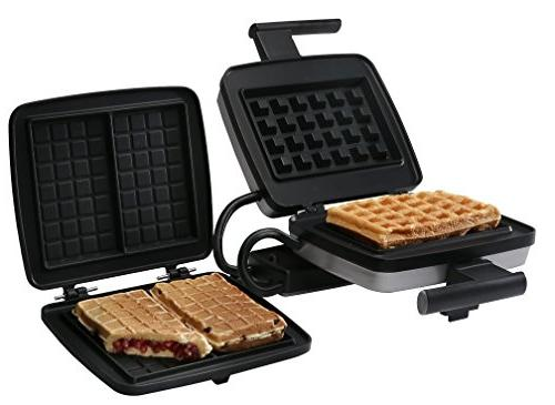 traditional single thermostat waffle maker