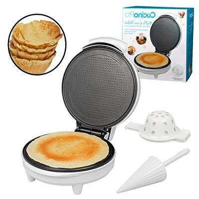 waffle cone and bowl maker ice cream