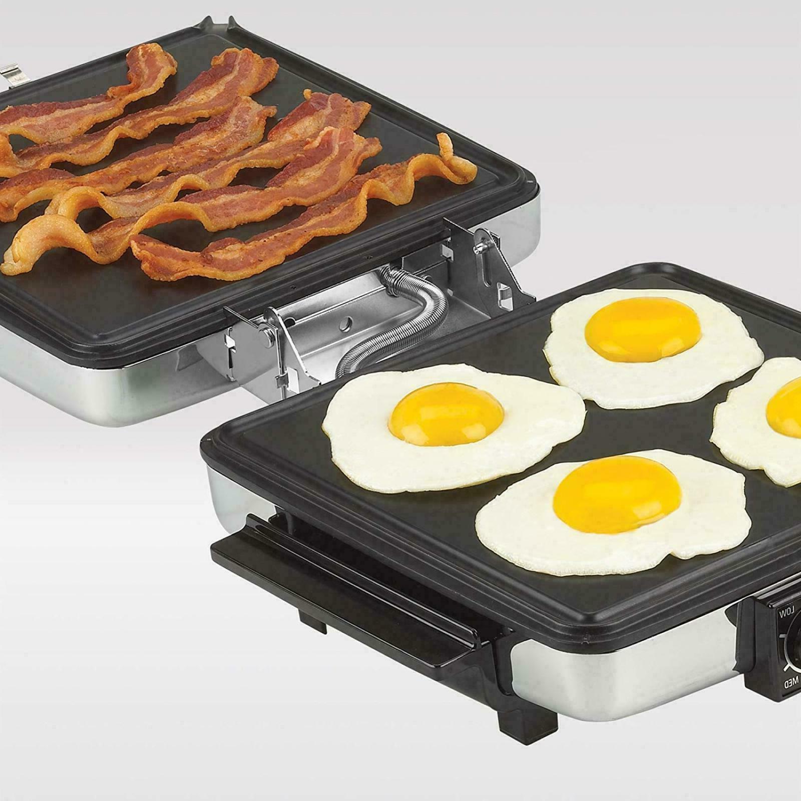 Waffle Maker Indoor Grill 3-in-1 Nonstick