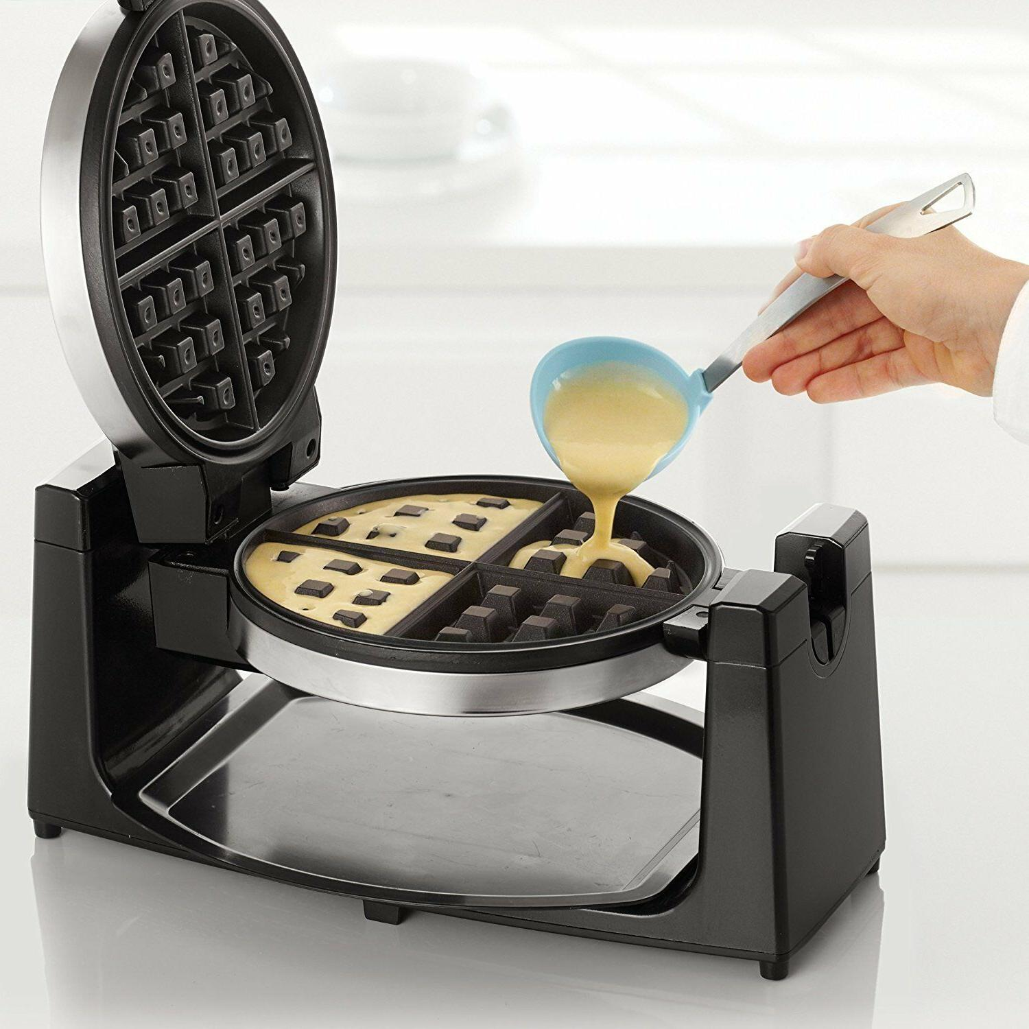 Waffle Maker Kitchen Commercial Iron Heavy