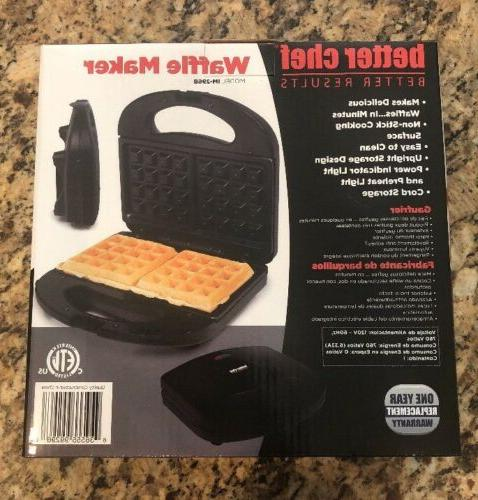 waffle maker black im 296b