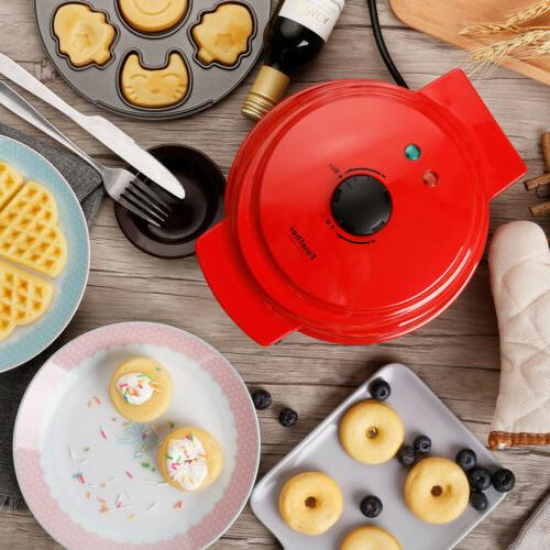 3 IN 1 Maker Waffle For Cartoon Waffles Cakes
