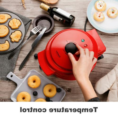 Maker Non-Stick Waffle For Cartoon Cakes