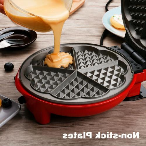 3 Maker Non-Stick Iron For Heart-Shaped Cartoon Cakes