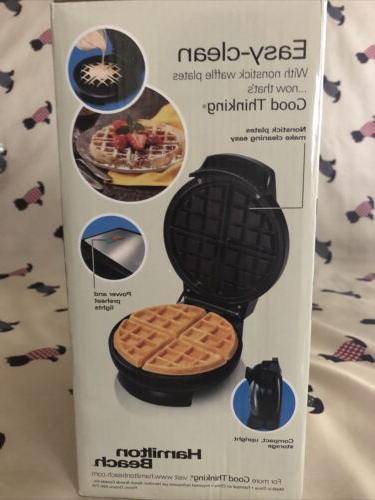 hamilton beach waffle