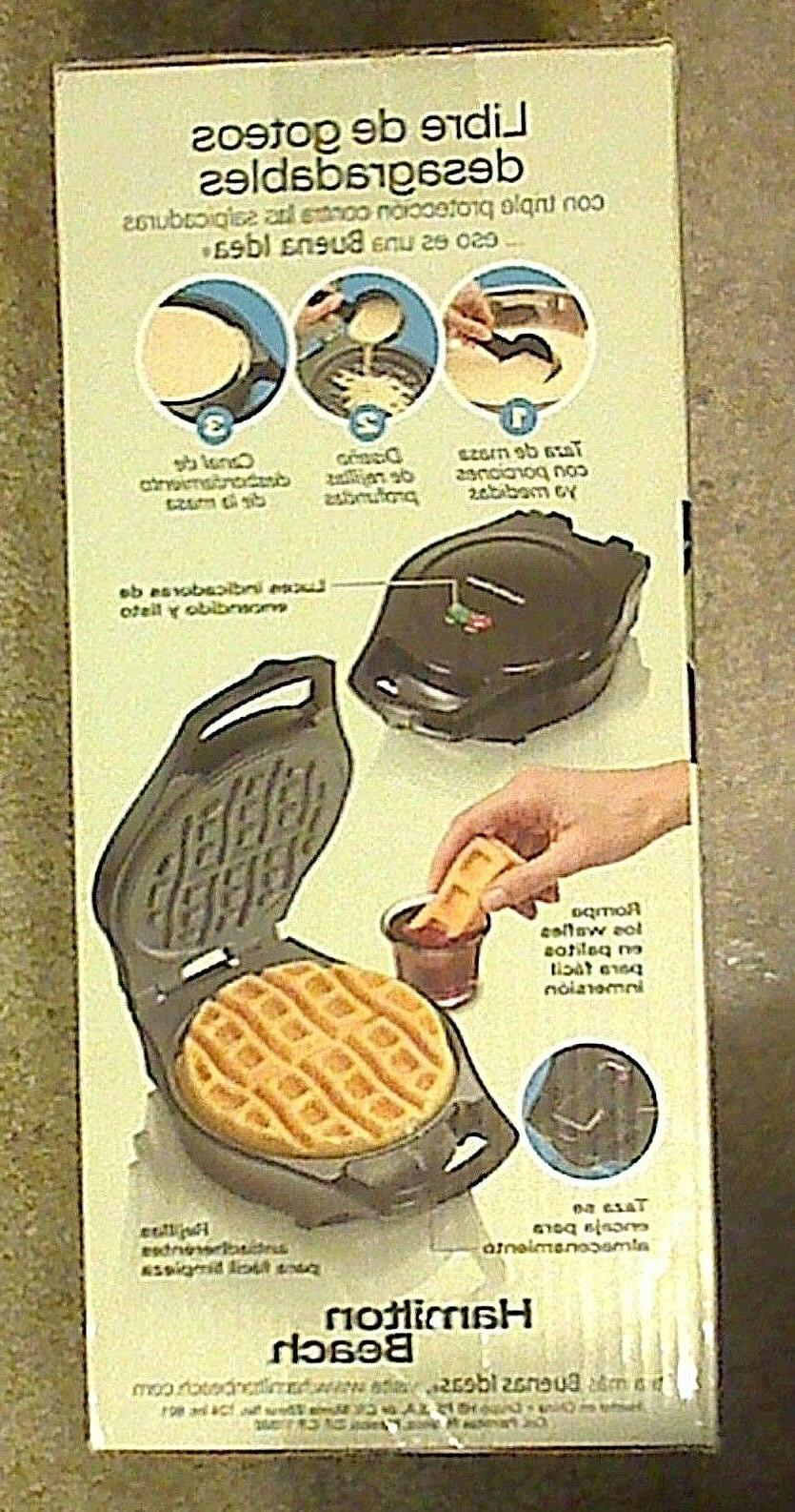 Hamilton Beach Waffle NEW #26040