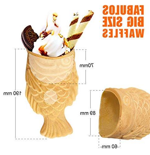 ALDKitchen Taiyaki Use Jam Ice Cream Stainless