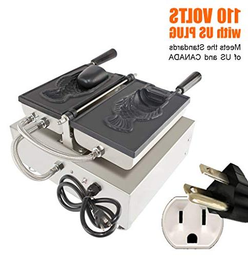 ALDKitchen Maker | Use Jam Cream Waffle Stainless Steel Taiyaki Maker