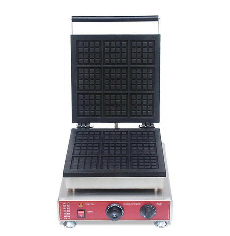 Waffle Maker Square Belgian Waffle Maker Iron Baker Machine