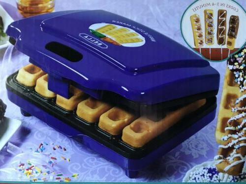 waffle stick maker makes 6 delicious waffle
