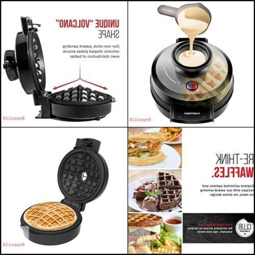 Waring Pro Maker Overflow Volcano Waffle