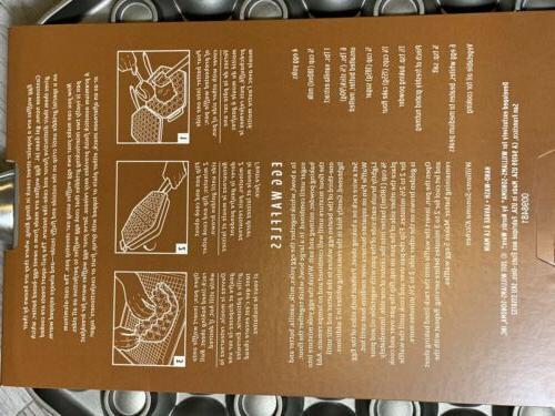 William Nordic Egg Waffle Steel Handle