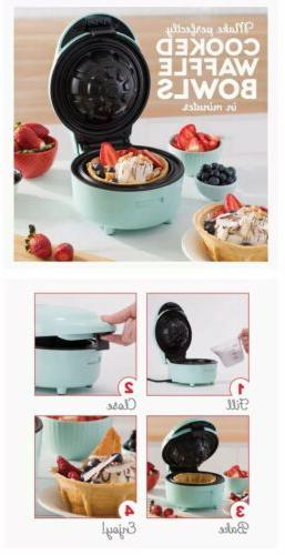 Yes Chef Deluxe Waffle Bowl Blue