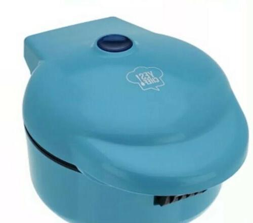 yes chef deluxe waffle bowl maker blue