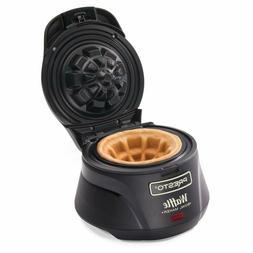 Makes a 4-inch  Presto Belgian Waffle Bowl Maker Signal Ligh