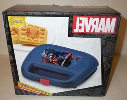NEW IN BOX MARVEL SPIDERMAN 2 SLICE WAFFLE MAKER WITH SPIDER