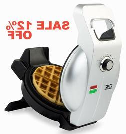 Kalorik Easy Pour Waffle Maker, WM 43981 SS, Mess & Stress F