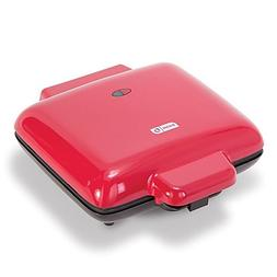 Dash™ No Mess Waffle Maker in Red With Nonstick Cooking Su