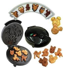 Disney Mickey &Gang 5 in 1 Tasty Baker Waffle Maker,Bakes Pa
