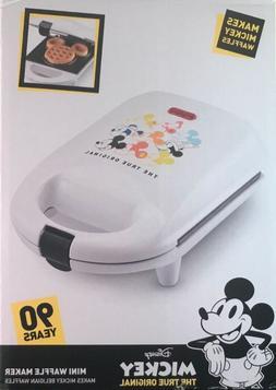 Disney Mickey Mouse 90th Anniversary Mini Waffle Maker .wow